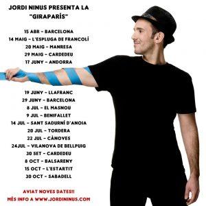 Jordi Ninus gira París