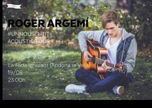 Roger Argemí cartell