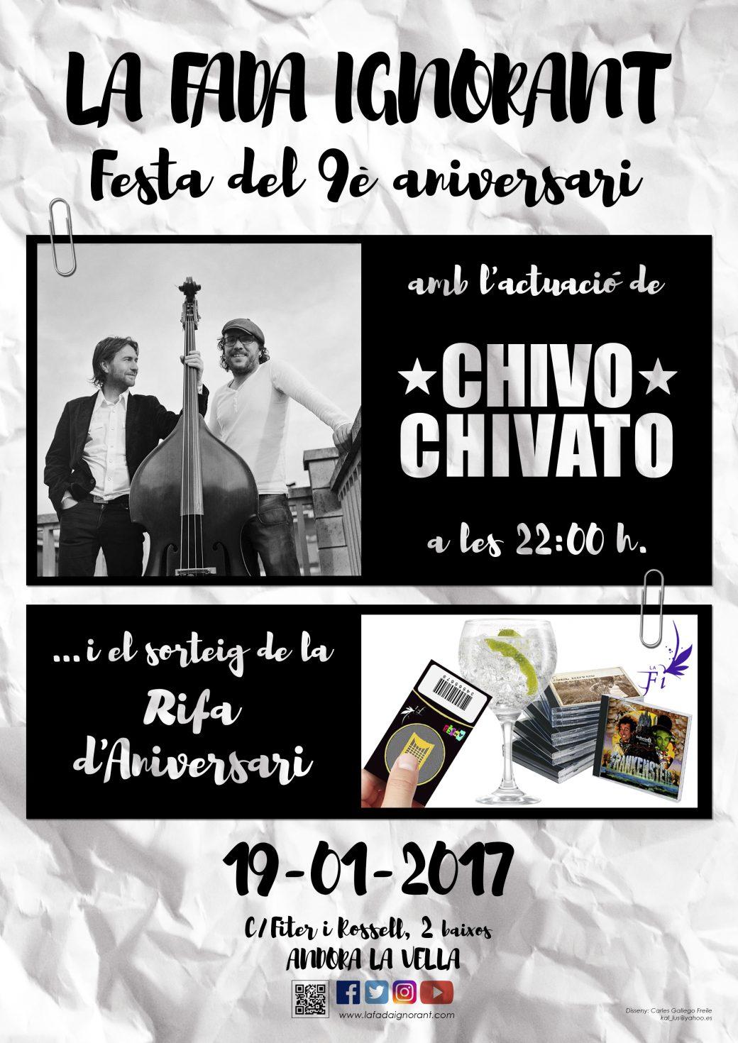 CARTELL-LA FADA-9_ANIVERSARI-CHIVO CHIVATO