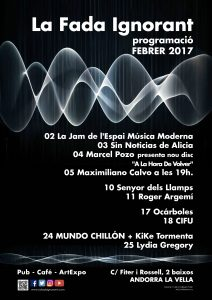 CARTELL-LAFADA - PROGRAMACIO FEBRER 2017
