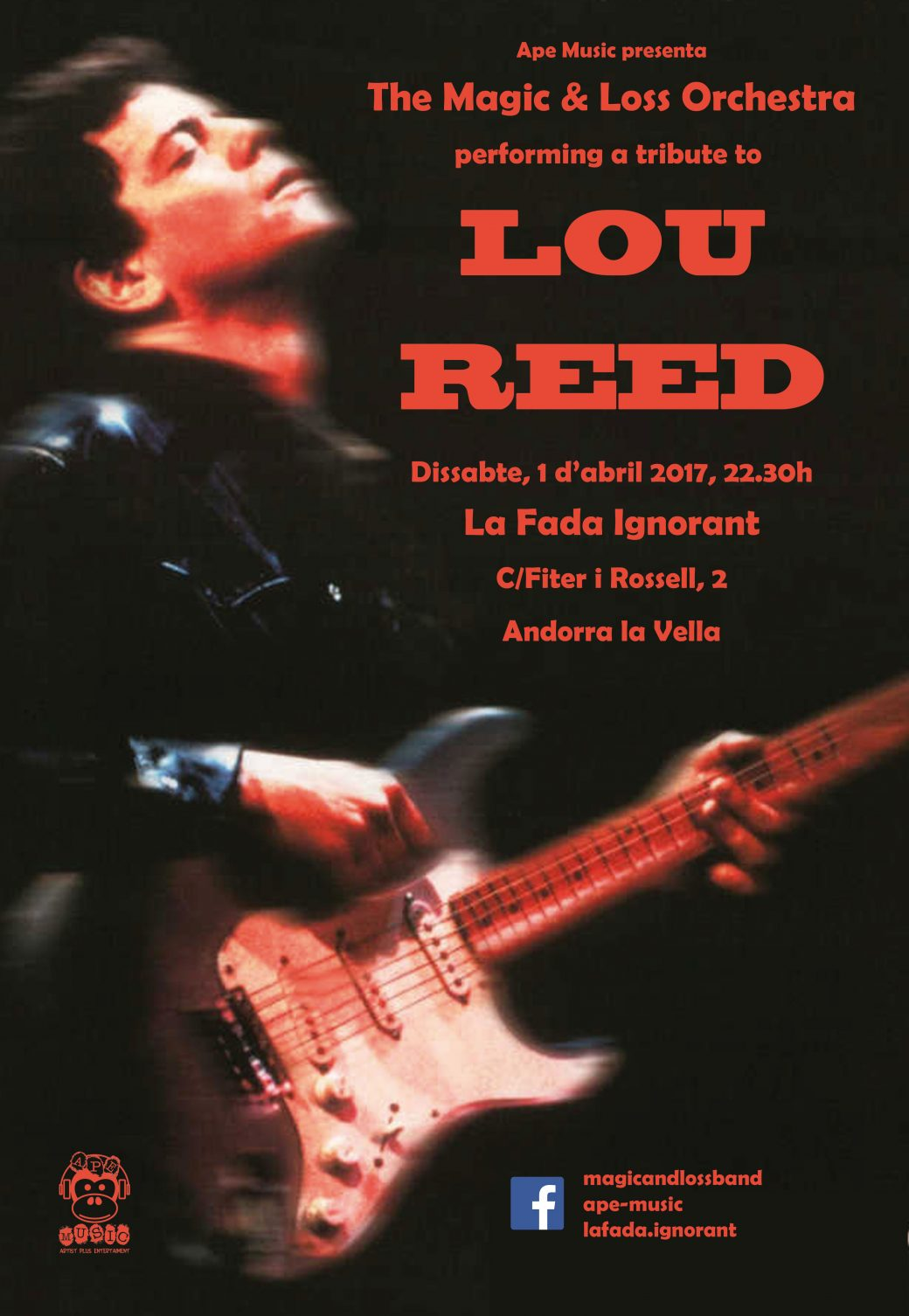 Cartell Tributo a Lou Reed2017_04_01_Andorra
