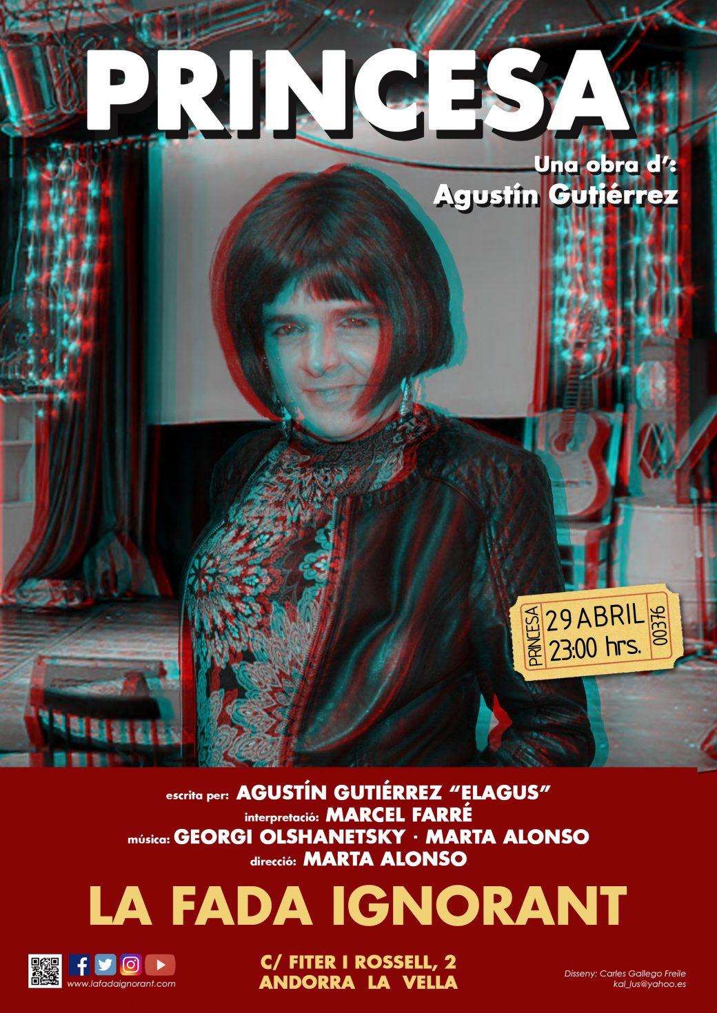 CARTELL-LAFADA- PRINCESA obra teatral