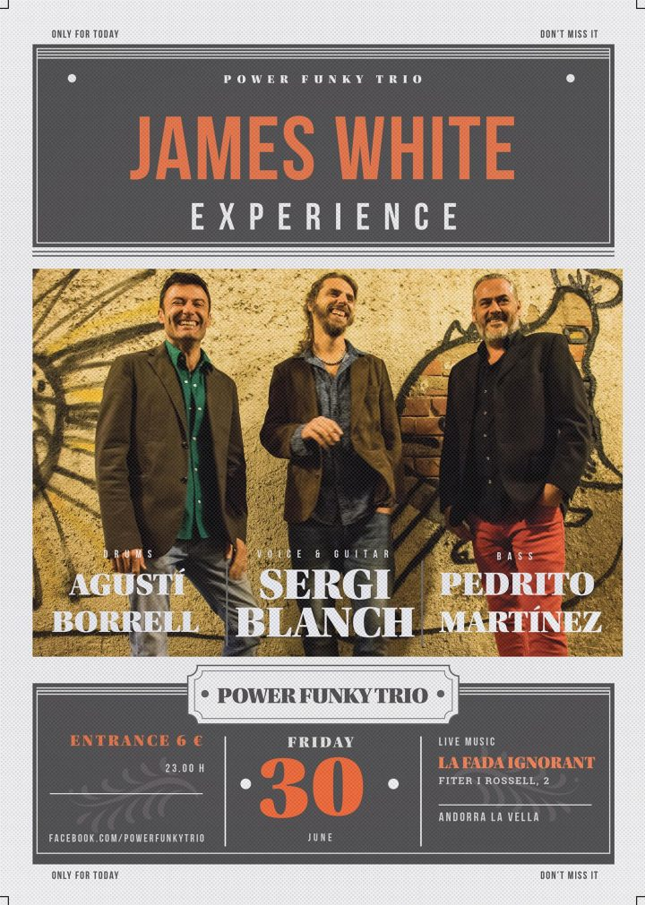 Cartell James White Experience