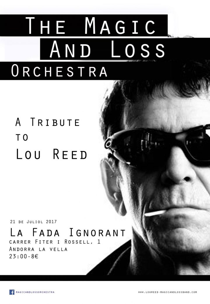 cartell tribut Lou Reed 21 juliol 17