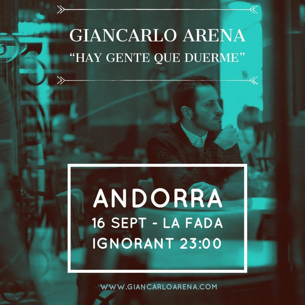cartell Giancarlo Arena formato cuadrado 16.9.17