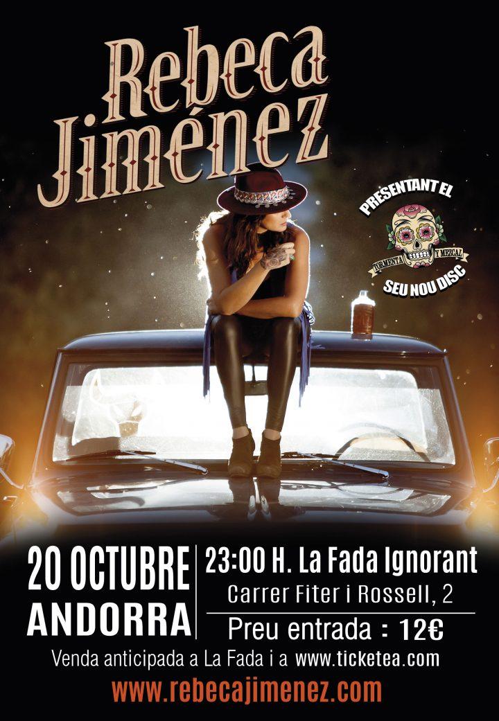 rebeca jimenez cartel madrid octubre