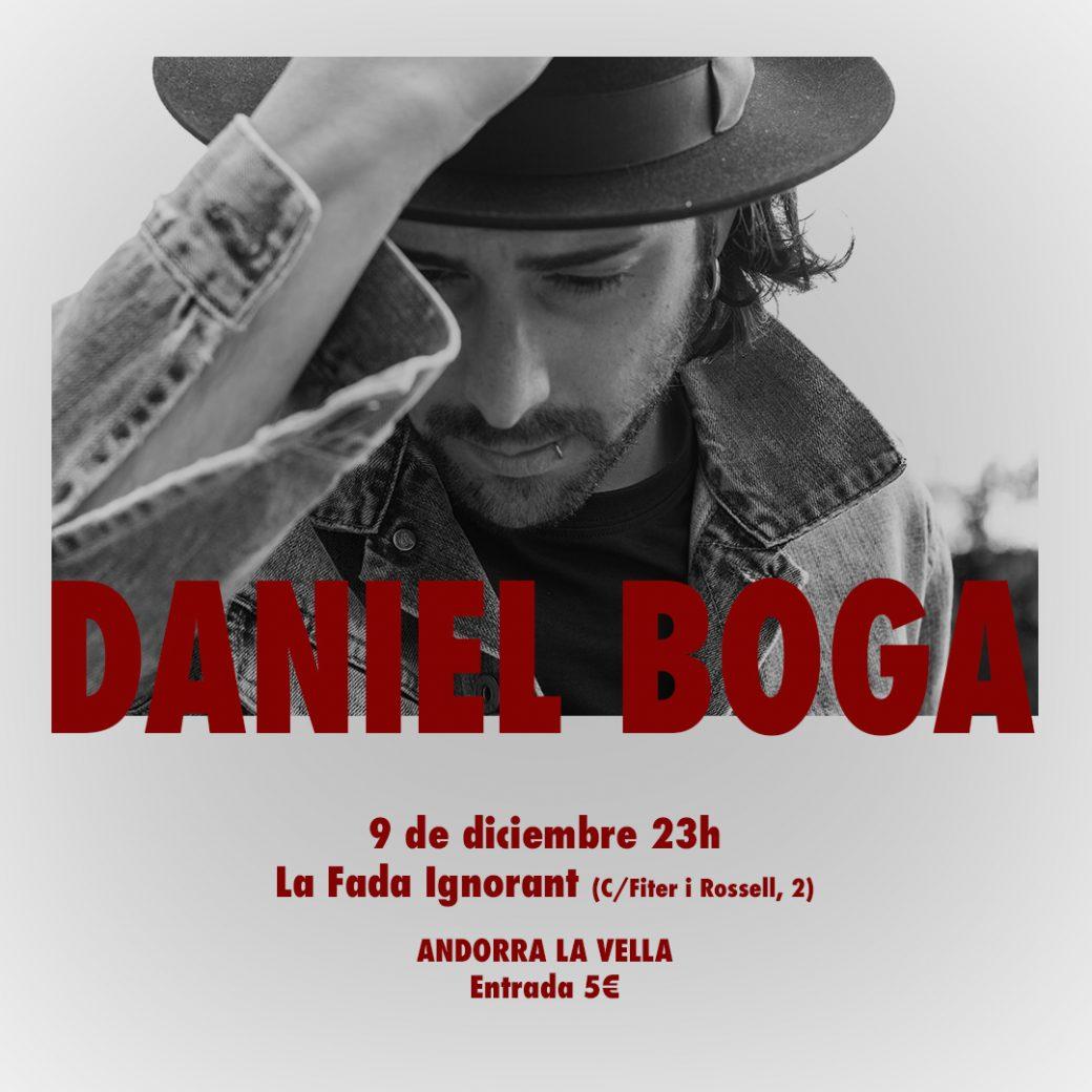 Cartell Daniel Boga CONCERT ANDORRA LA VELLA