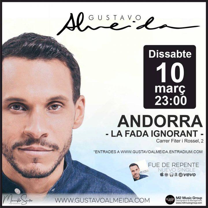 Cartell GUSTAVO ALMEIDA 10-03-2018 LA FADA