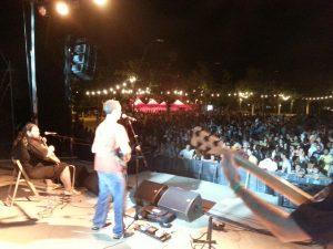Oscar Torres en concert