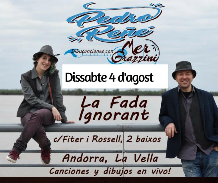 Cartell Pedro Reñé & Mer Grazzini